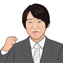 小山田さん似顔絵